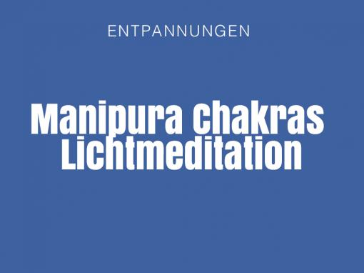 Manipura Chakras – Lichtmeditation