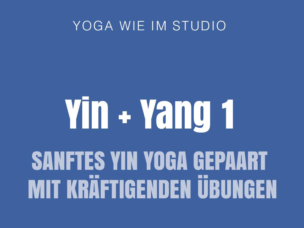 Yin + Yang1